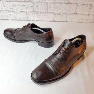 Barneys New York, mens, lace oxfords, black, sz 11
